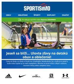 Šport akcie v katalógu Sportisimo ( 10 dní zostáva)