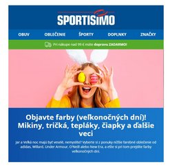 Katalóg Sportisimo ( Onedlho vyprší)