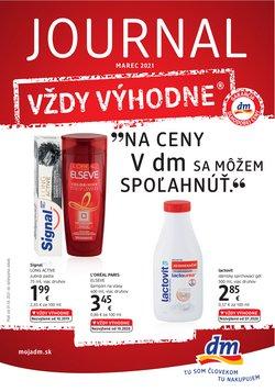 Drogéria a Kozmetika akcie v katalógu Dm Drogerie v Banská Bystrica ( Pred 3 dňami )