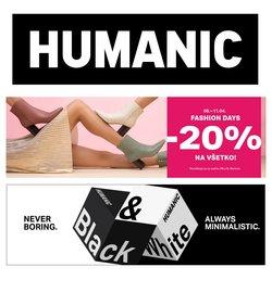 Katalóg Humanic ( Uverejnené včera)