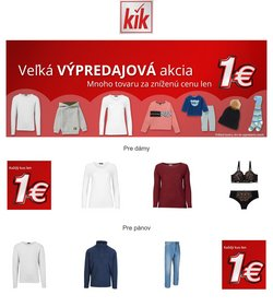 KiK akcie v katalógu KiK ( Neplatný)