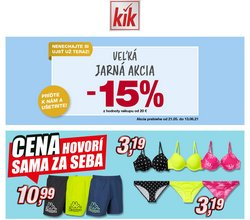 KiK akcie v katalógu KiK ( Onedlho vyprší)