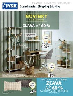 Dom a Záhrada akcie v katalógu JYSK ( Uverejnené včera)
