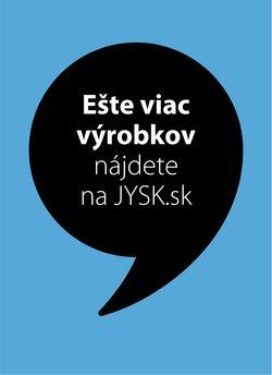 Katalóg JYSK v Prievidza