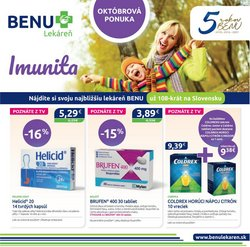 Drogéria a Kozmetika akcie v katalógu Benu Lekáreň ( 14 dní zostáva)