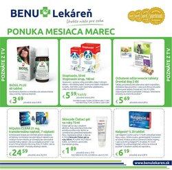 Drogéria a Kozmetika akcie v katalógu Benu Lekaren v Banská Bystrica ( Pred 2 dňami )