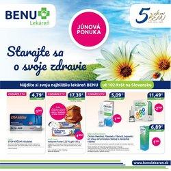 Drogéria a Kozmetika akcie v katalógu Benu Lekaren ( 16 dní zostáva)