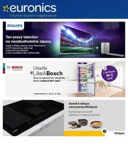 Elektronika akcie v katalógu Euronics ( 2 dní zostáva)