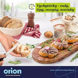 Katalóg Orion ( Zverejnené dnes)