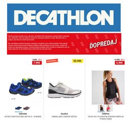 Katalóg Decathlon v Bratislava