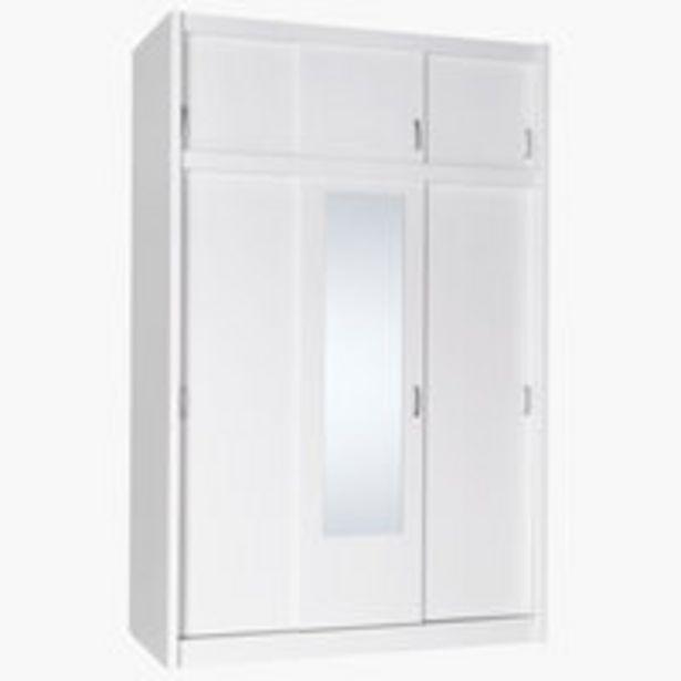 Skriňa EVETOFTE 143x220 biela v akcii za 299€