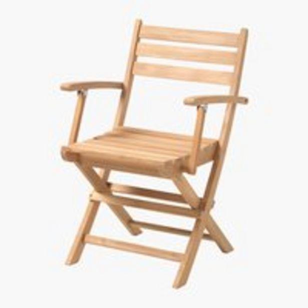 Skladacia stolička VESTERHAVET tík v akcii za 129€