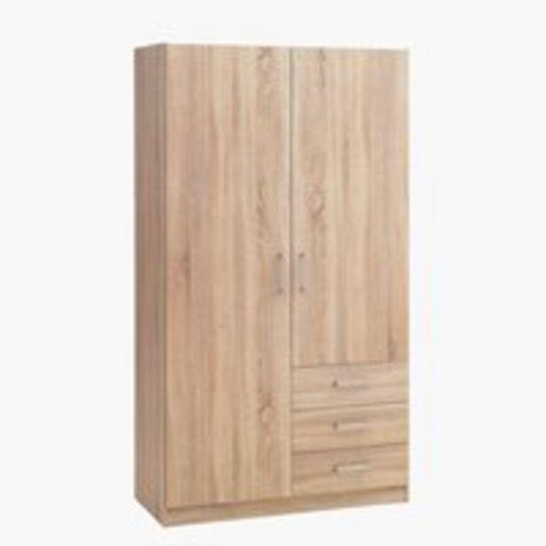 Skriňa HAGENDRUP 96x176 kombi dub v akcii za 110€