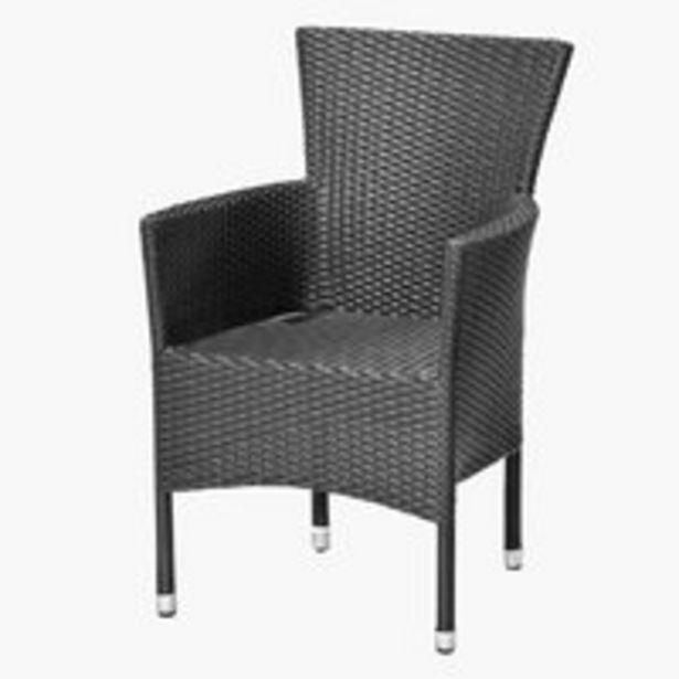 Stohovateľná stolička AIDT čierna v akcii za 79,99€