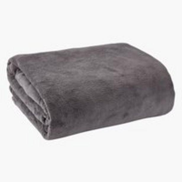 Deka DRAGEHODE fleece 140x200 tmavosivá v akcii za 16,99€
