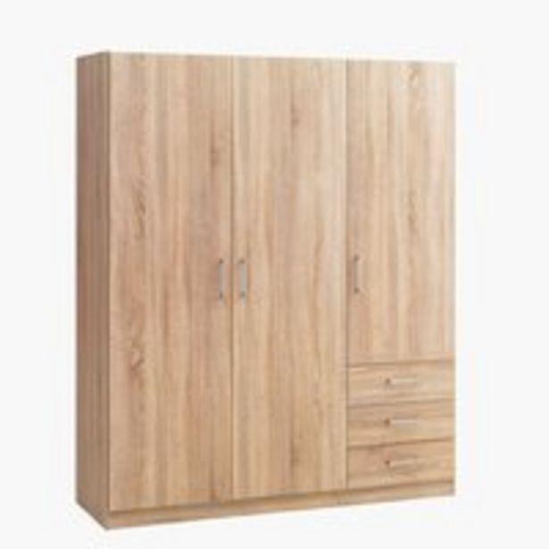 Skriňa HAGENDRUP 144x176 kombi dub v akcii za 140€
