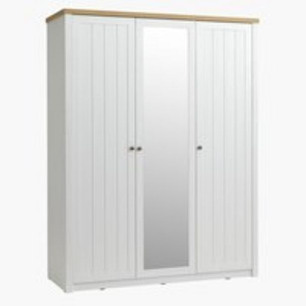 Skriňa MARKSKEL 162x210 biela/dub v akcii za 449€