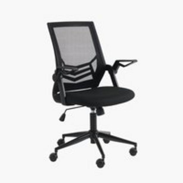 Kancelárske kreslo ASPERUP čierna v akcii za 109€