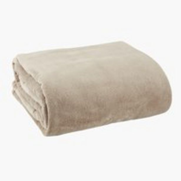 Deka DRAGEHODE fleece 140x200 sivohnedá v akcii za 16,99€