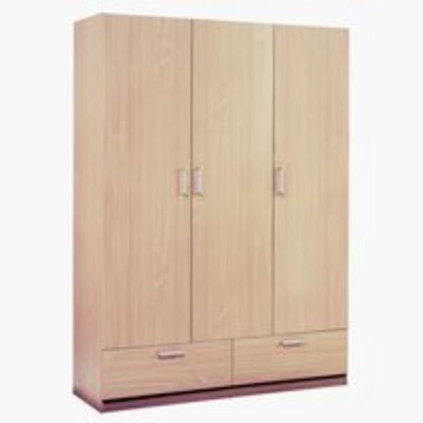 Skriňa ELLESTED 144x200 dub v akcii za 185€