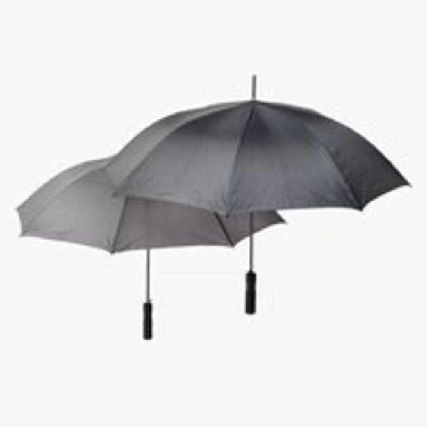 Dáždnik TINO Ø105xV82cm čierna v akcii za 4,5€