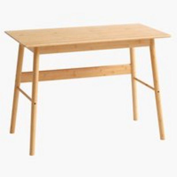 Písací stôl VANDSTED 55x105 bambus v akcii za 179€
