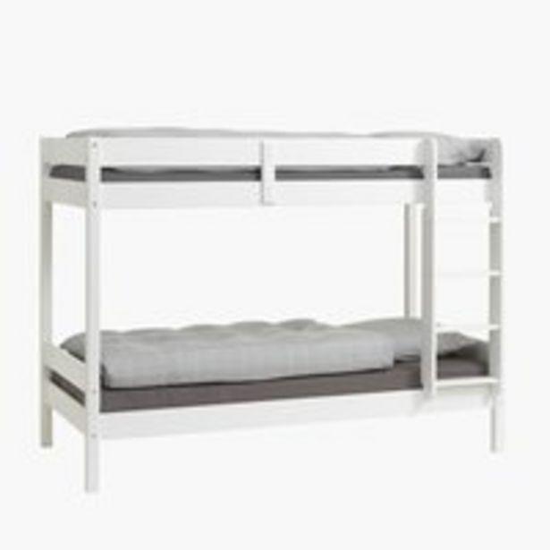 Poschodová posteľ VESTERVIG 2x90x200 v akcii za 449€