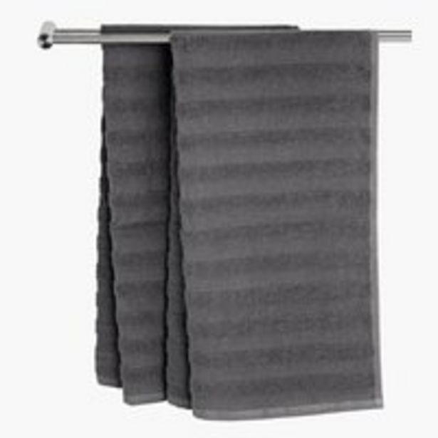 Osuška TORSBY 65x130 sivá v akcii za 2€