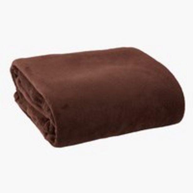 Deka DRAGEHODE fleece 140x200 hnedá v akcii za 16,99€