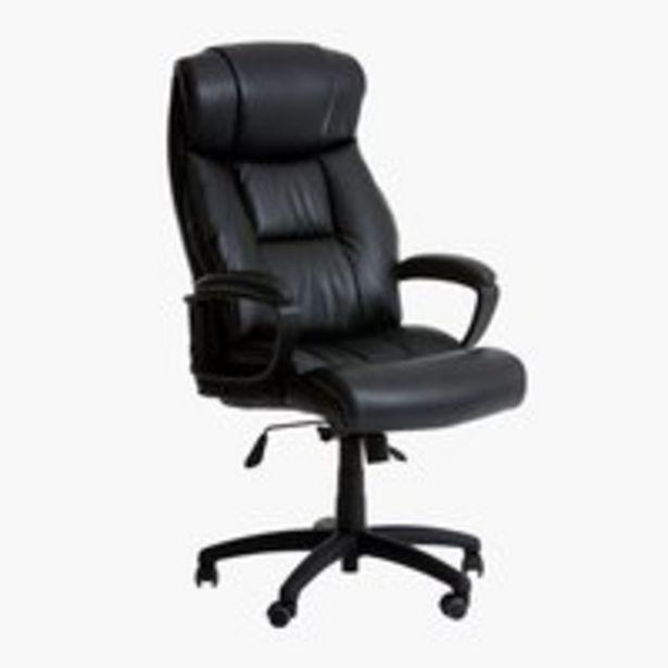 Kancelárske kreslo TJELE čierna v akcii za 229€