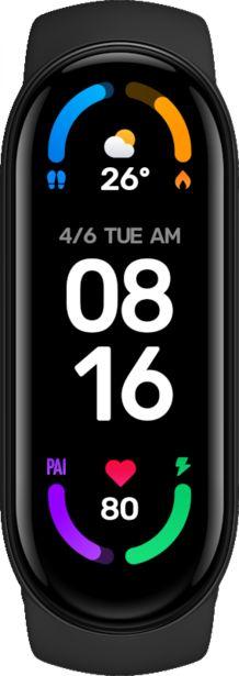 Xiaomi Mi Band 6 Black v akcii za 32€