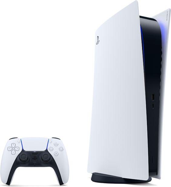 Sony PlayStation 5 Digital White v akcii za 42€