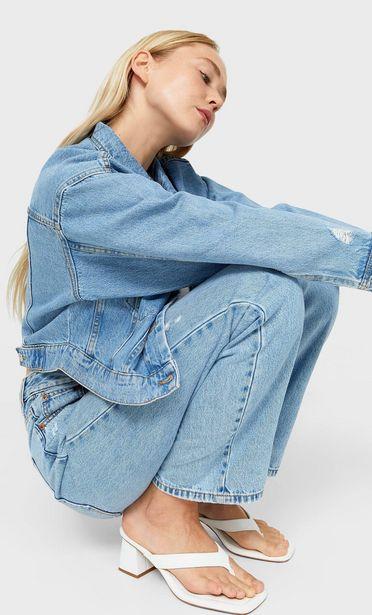 Skrátená džínsová bunda v akcii za 25,99€