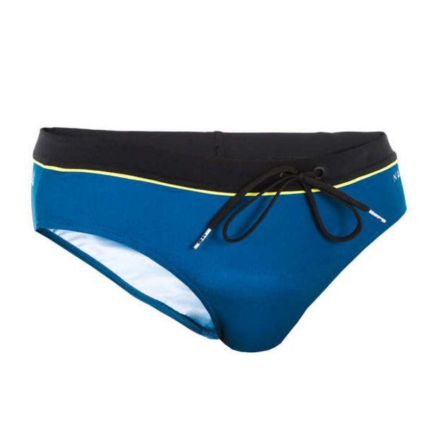 Pánske slipové plavky Pep 100 čierno-modré v akcii za 9,49€