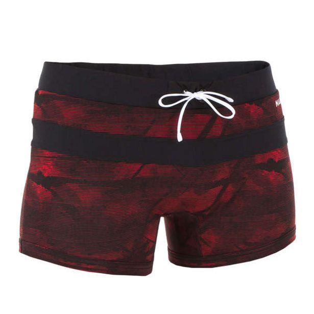 Pánske boxerkové plavky 100 Pool červené v akcii za 13,99€