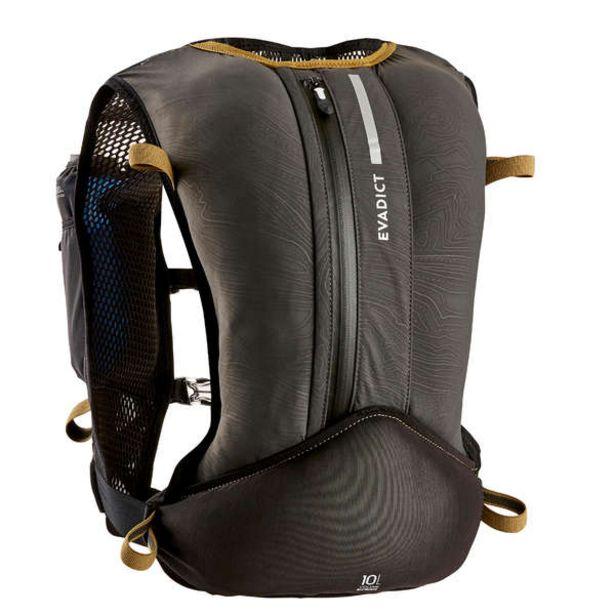 Trailový batoh 10 l unisex čierno-bronzový v akcii za 32,99€
