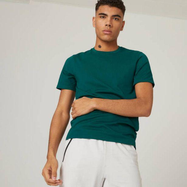 Pánske tričko 500 na cvičenie zelené v akcii za 5,49€