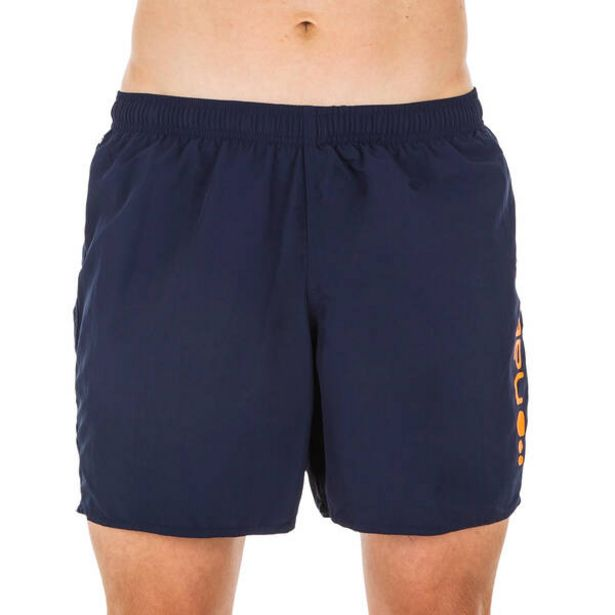 Pánske šortkové plavky 100 tmavomodro-oranžové v akcii za 7,49€