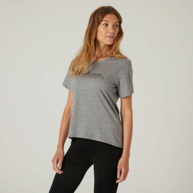 Dámske tričko 515 na cvičenie sivé v akcii za 9,49€