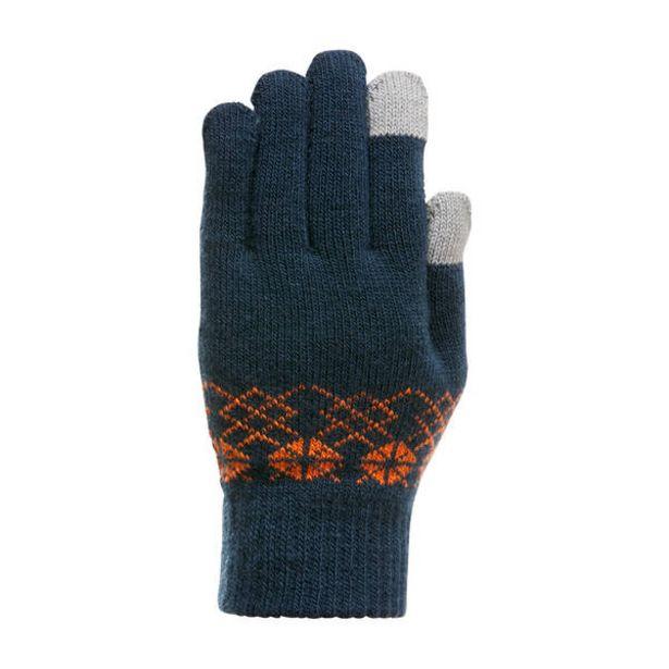 Detské dotykové turistické rukavice SH100 z pleteného materiálu pre 4-14 rokov v akcii za 3,69€