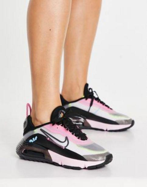 Nike Air Max 2090 trainers in pink and black v akcii za 73,5€