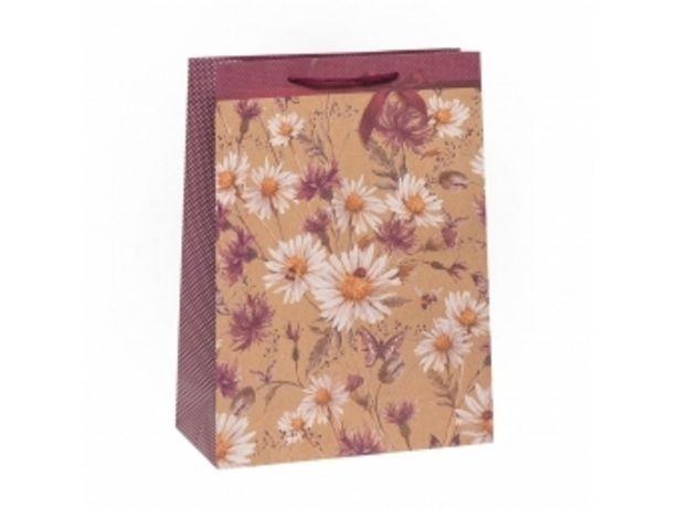 Argus taška darčeková celoročná Natur T8 (310x415x120mm), kvety v akcii za 1,56996€