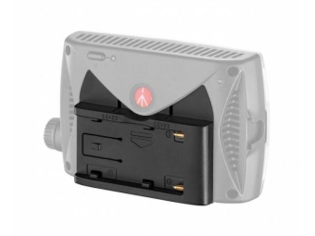Manfrotto MLBATTADT-L7.2V, adaptér pre batérie SONY L na LED svetlá Manfrotto v akcii za 39,99996€