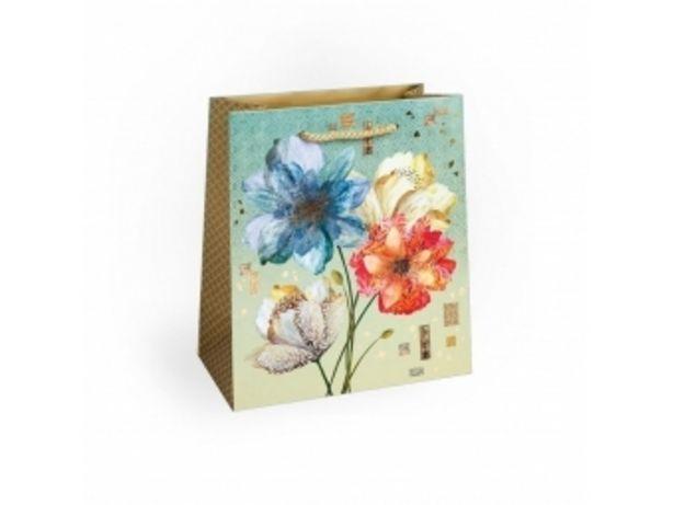 Argus taška darčeková celoročná Lux T4L (200x240x105mm), kvety v akcii za 0,57792€