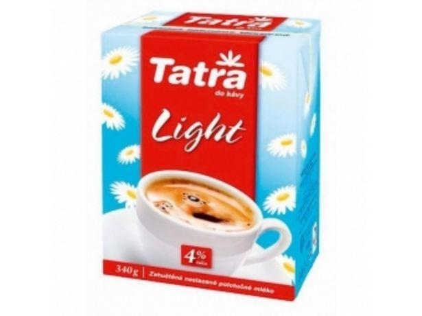 Tatra Zahustené mlieko Tatra Light 4% 340g v akcii za 3,48996€