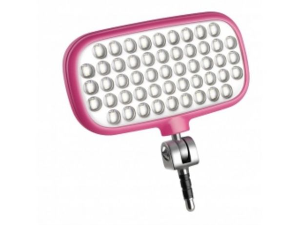 METZ Mecalight LED-72 smart pink - ružová v akcii za 24,99996€