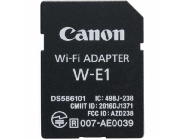 Canon Wi-Fi adaptér W-E1 v akcii za 48,99996€