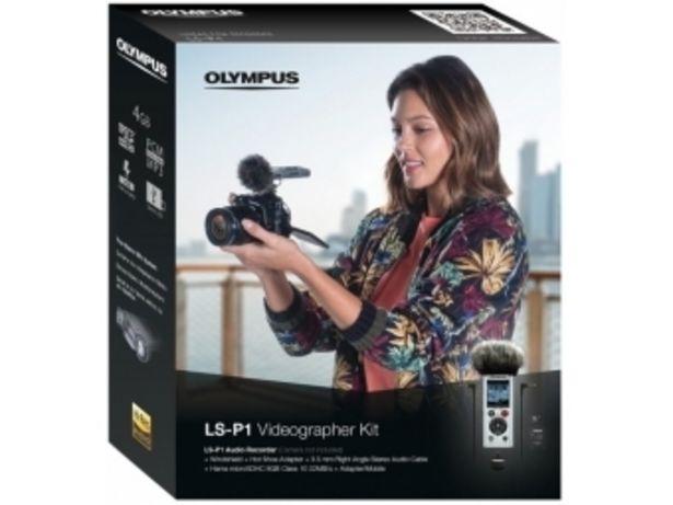 Olympus LS-P1 Videographer kit - Digitálny záznamník + príslušenstvo v akcii za 159,99€