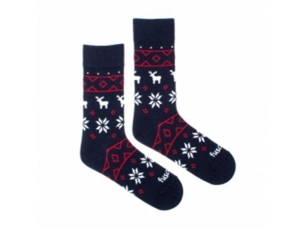 """Fusakle ponožky Zimník """"S"""" (35-38) v akcii za 5,99004€"""