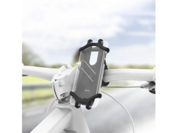 Hama 183250 držiak mobilu na bicykel, pre zariadenia so šírkou 6-8 cm a výškou 13-15 cm v akcii za 11,43€